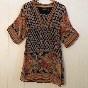 Dresses & Skirts - Starina Vintage Boho Floral Dress